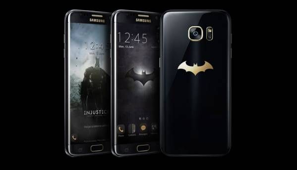 Here's your first look at Samsung's Batman-theme Galaxy S7 Edge