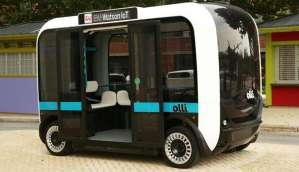 Olli is a self driving bus that you can talk to