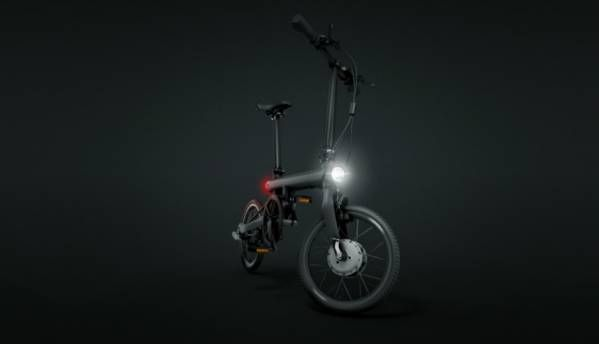 Qicycle is an electric folding bicycle by Xiaomi