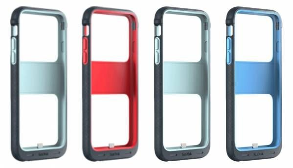 SanDisk iXpand Memory Case will expand the storage of your iPhone