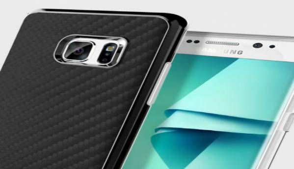 Samsung Galaxy Note 7 case renders hint at curved display