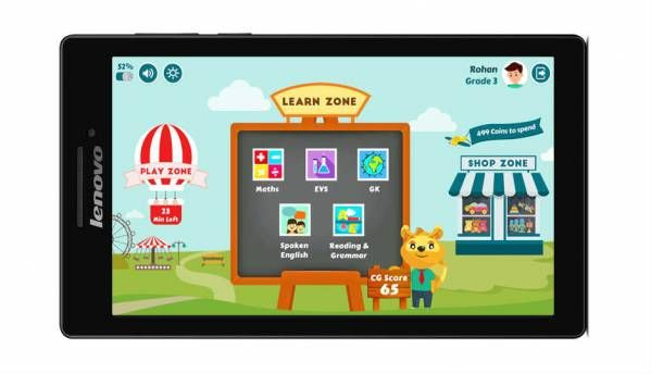 CG Slate tablet from Lenovo is meant for kids