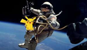 International Space Station residents cannot play Pokemon Go