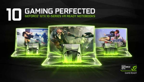 NVIDIA announces GTX 1080, 1070, 1060 laptop GPU lineup
