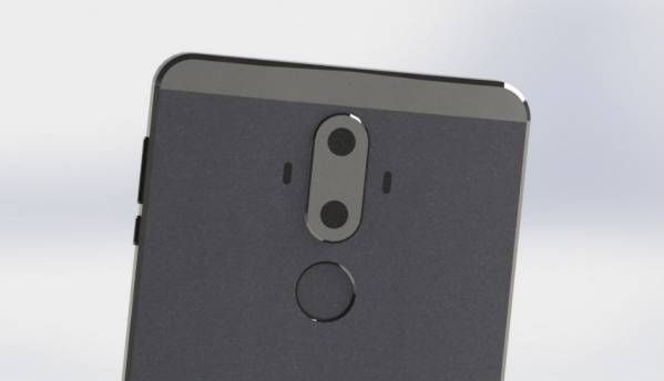 Huawei Mate 9 renders leaked, suggest dual-rear camera setup