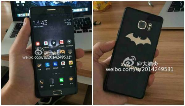 Samsung Galaxy Note 7 Batman-themed Injustice Edition leaked on Weibo
