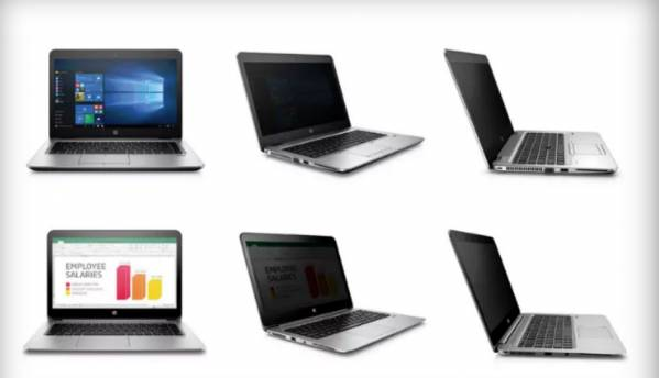 HP's new Sure View screen will prevent others from peeking inside your laptop