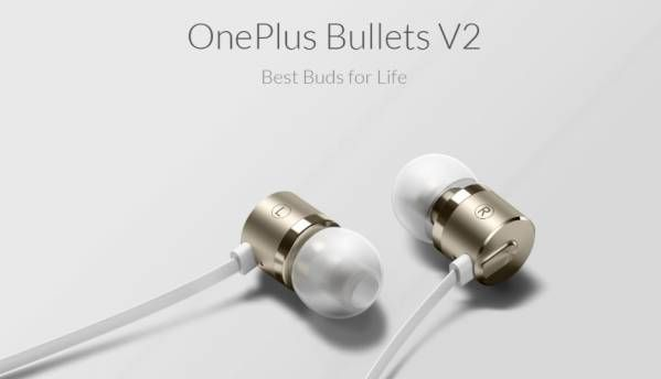 OnePlus Bullets V2 earphones launched