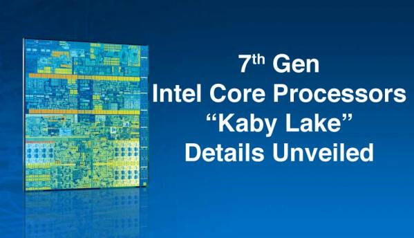 7th Gen Intel Core Processors detailed
