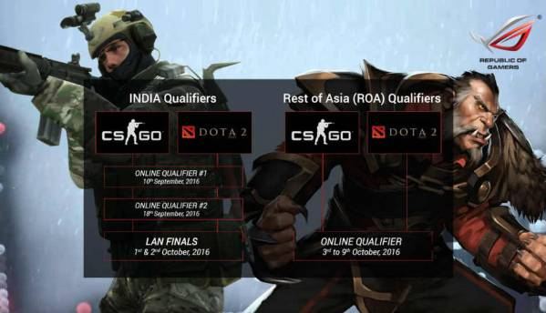 Asus announced the maiden launch of ROG Masters India Qualifier gaming tournament