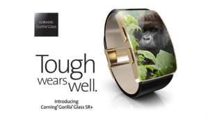 Corning introduces Gorilla Glass SR+, a protective glass for wearables