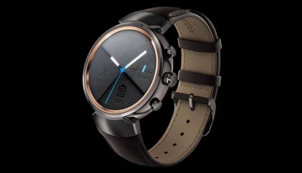 Asus ZenWatch 3 with Android Wear, circular display launched at IFA 2016