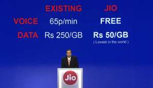 Reliance Jio launches cheapest 4G smartphone, lowest 4G data plans, free lifetime voice calls, and much more