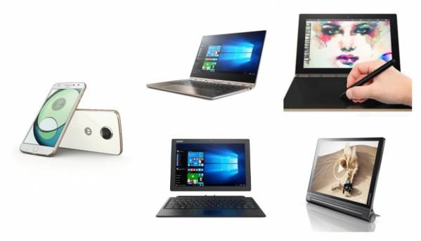 Lenovo at IFA 2016: Lenovo Yoga Book, Miix 510, Moto Z Play and more