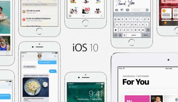 Apple rolls out iOS 10, WatchOS 3 to iPhones, iPads, Apple Watch