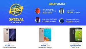 Flipkart Big Billion Day Sale: Here's a sneak peek of the tech deals on offer
