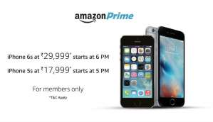 Amazon Prime Deal: Apple iPhone 6s available at Rs. 29,999