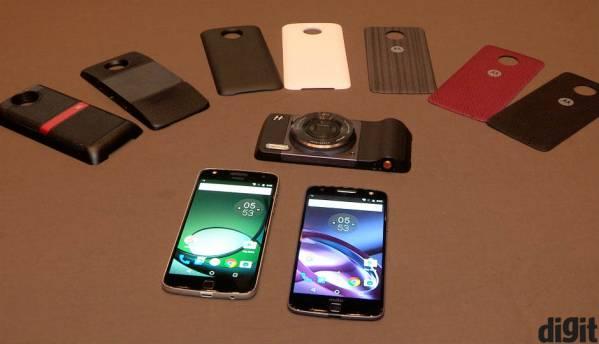 Motorola launches Moto Z, Moto Z Play modular smartphones in India
