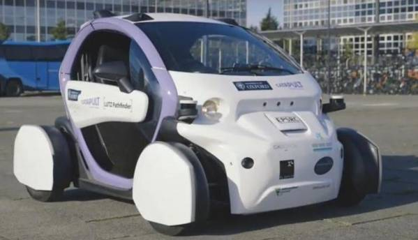 Self-driven car goes through first ever public road trial in UK