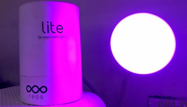 Reos Lite: A Bluetooth LED bulb to spice up home lighting
