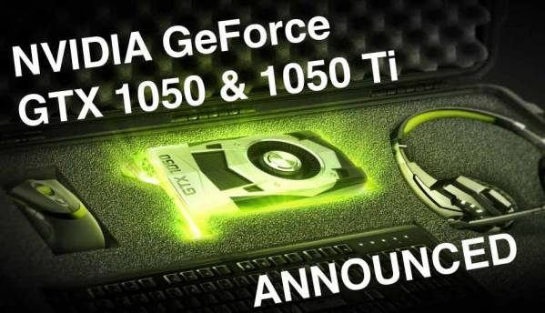 NVIDIA announces GeForce GTX 1050 for RS.10,000 and GeForce GTX 1050Ti for Rs.12,500