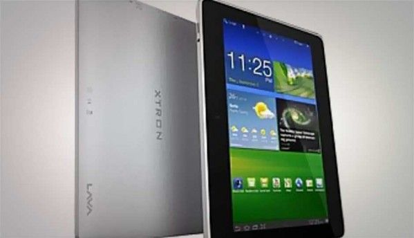Lava E-Tab Xtron dual-core Jelly Bean tablet available online, for Rs. 6,499