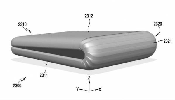 Samsung Galaxy X foldable smartphone revealed in patent images