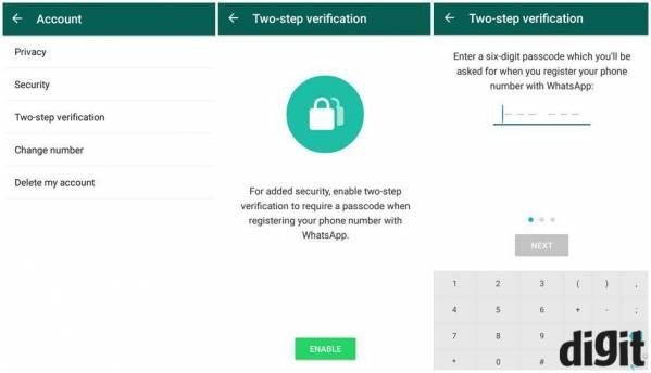 WhatsApp rolls out two-step verification for Android, iOS, Windows smartphones
