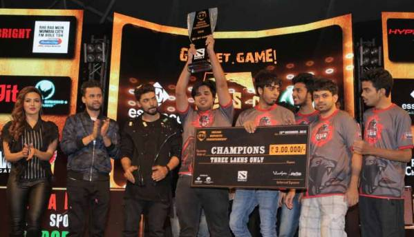 Team Brutality and Team Roar emerge as winners at Indian eSports Championship