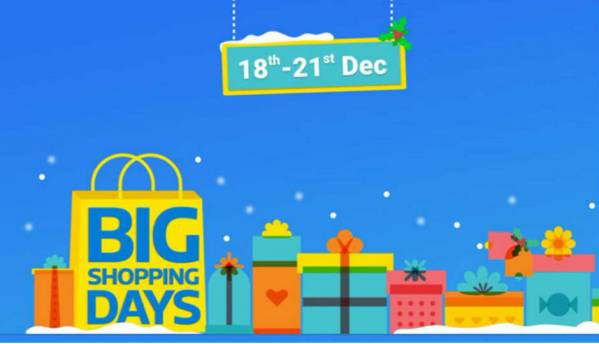 Flipkart Big Shopping Days: OnePlus 3, Apple iPhone 6 and other deals you need to know