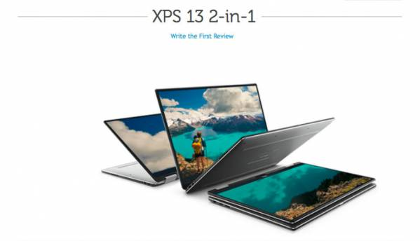 Dell XPS 13 2-in-1 leaks ahead of CES 2017 launch