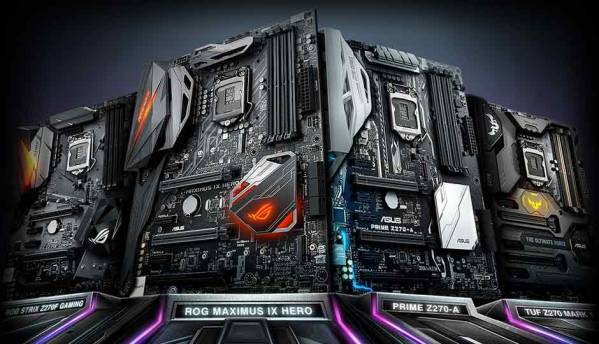 ASUS ROG announces new Maximus IX and Strix Z270 series gaming motherboards
