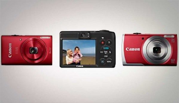 CES 2013: Canon unveils novel PowerShot N alongside three new cameras