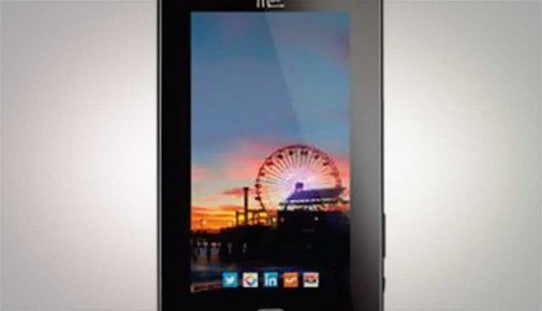 HCL Me Tab V1 budget ICS tablet available online for Rs. 7,699