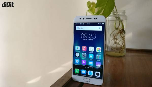 Vivo V5 Plus with dual front cameras launched at Rs 27,980