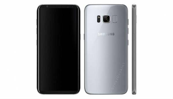 Samsung Galaxy S8 leaked renders show Bixby button and rear fingerprint sensor