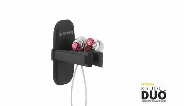Brainwavz Krudul Duo earphone storage accessory launched at Rs. 1,199