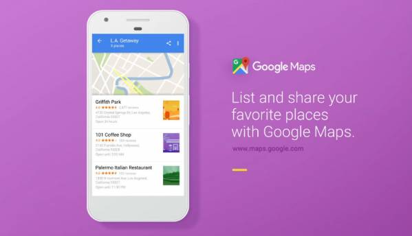 Google Maps 'Lists' will let you add recommendations, interests and more