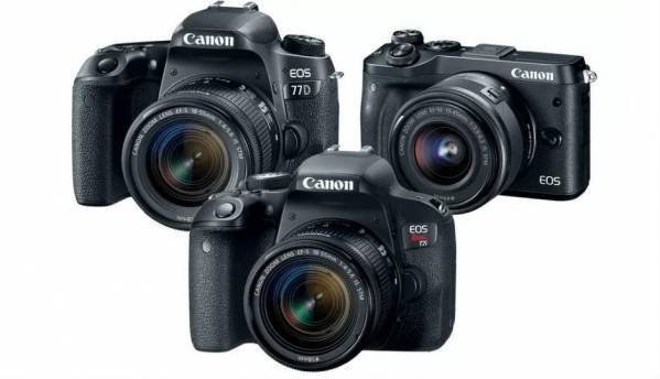 First look at Canon's new cameras for 2017 - EOS 77D, 800D DSLRs, EOS M6 mirrorless