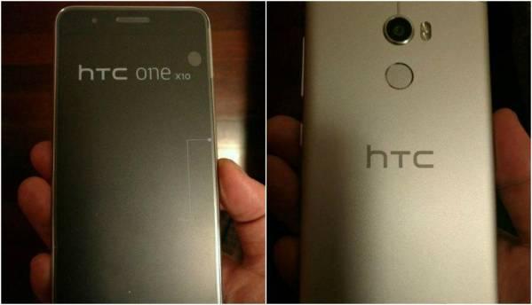 HTC One X10 leaked images show metal build, fingerprint sensor
