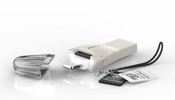 PhotoFast introduces 4K iReader microSD card reader for Apple iPhone 7