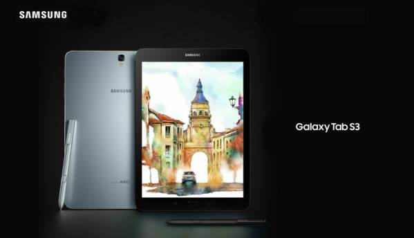 Samsung Galaxy Tab S3, Galaxy Book tablets: In pictures