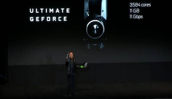 NVIDIA GeForce GTX 1080 Ti Announced at GDC 2017 for $699