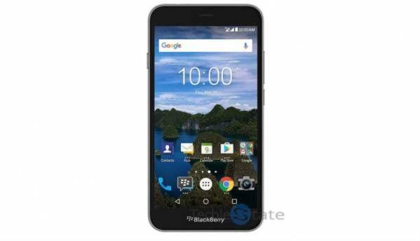 BlackBerry Aurora Android smartphone leaks online