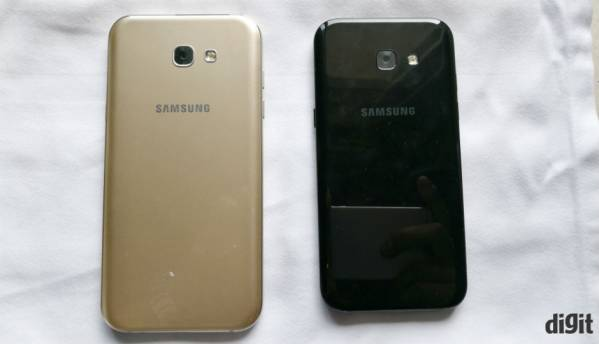 Samsung Galaxy A5, A7 (2017): In Pictures