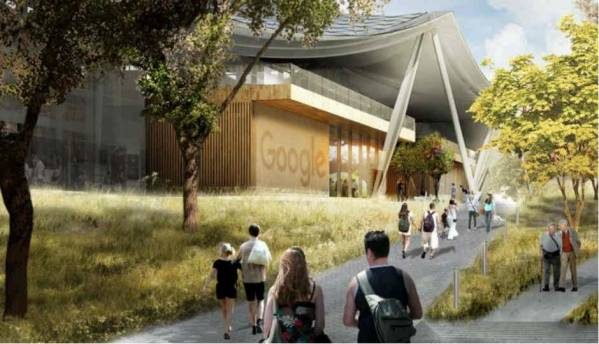 Google receives Mountain View nod for campus expansion