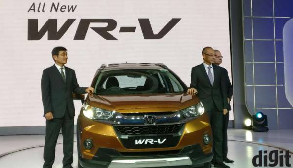 Honda WR-V compact SUV launched in India, prices start at Rs. 7.75 lakh