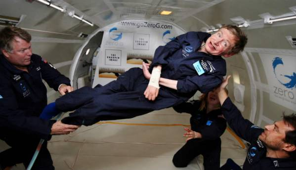 Stephen Hawking headed to space aboard Virgin Galactic