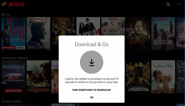 Netflix now supports downloads for offline viewing on Windows 10 desktop app