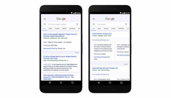 Google launches Fact Check feature to help curb spread of fake news